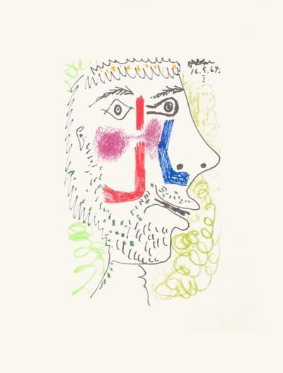 Le Go?t du Bonheur 08-Pablo Picasso-Premium Edition