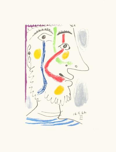 Le Go?t du Bonheur 10-Pablo Picasso-Premium Edition