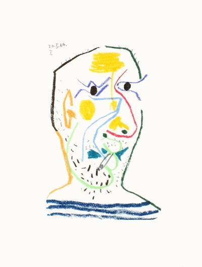 Le Go?t du Bonheur 15-Pablo Picasso-Premium Edition