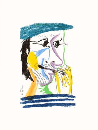 Le Go?t du Bonheur 17-Pablo Picasso-Premium Edition
