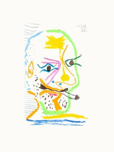 Le Go?t du Bonheur 21-Pablo Picasso-Premium Edition