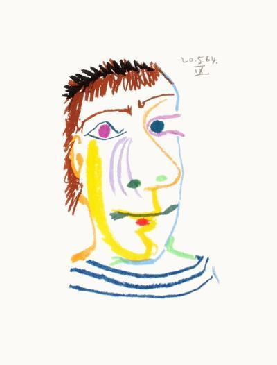 Le Go?t du Bonheur 23-Pablo Picasso-Premium Edition