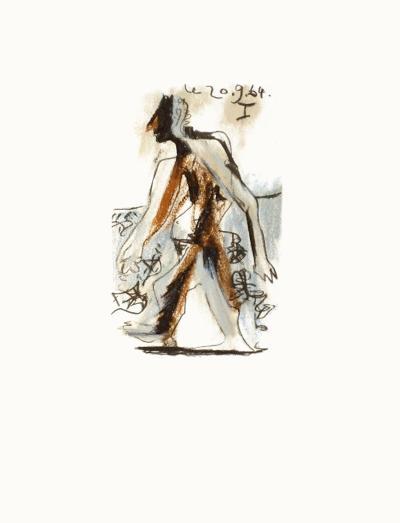 Le Go?t du Bonheur 30-Pablo Picasso-Serigraph