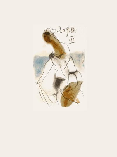 Le Go?t du Bonheur 32-Pablo Picasso-Serigraph
