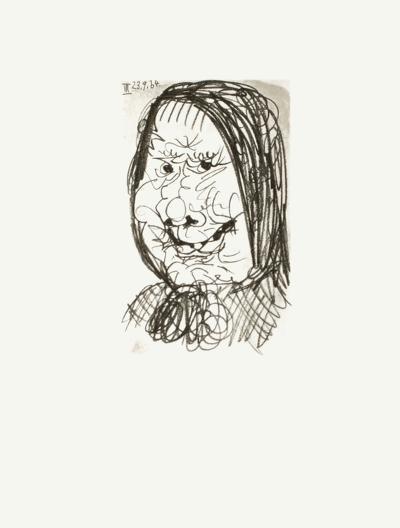 Le Go?t du Bonheur 36-Pablo Picasso-Serigraph