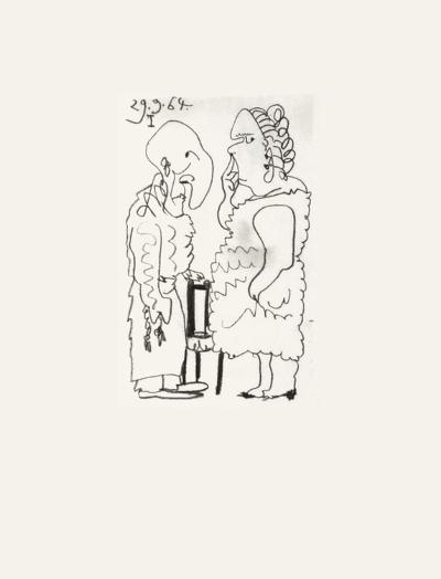 Le Go?t du Bonheur 39-Pablo Picasso-Serigraph