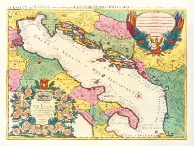 Le Golfe de Venise, 1696-Nicolas Sanson-Premium Giclee Print