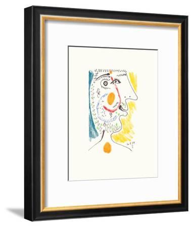 Le Goût du Bonheur 09-Pablo Picasso-Framed Premium Edition
