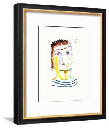 Le Goût du Bonheur 23-Pablo Picasso-Framed Premium Edition
