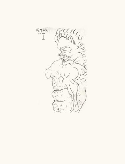Le Goût du Bonheur 26-Pablo Picasso-Serigraph