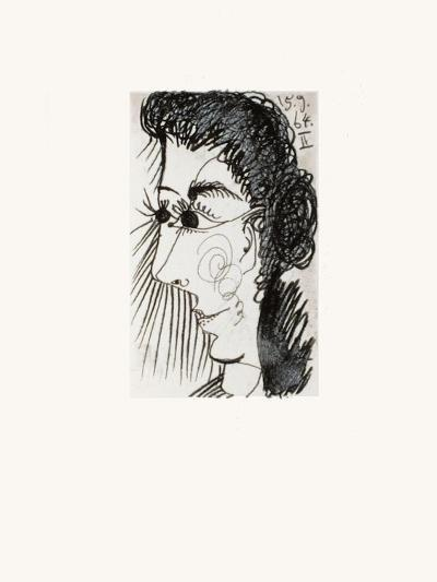 Le Goût du Bonheur 27-Pablo Picasso-Serigraph