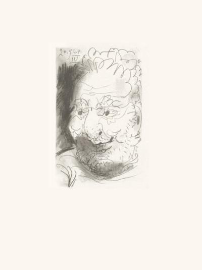 Le Goût du Bonheur 33-Pablo Picasso-Serigraph