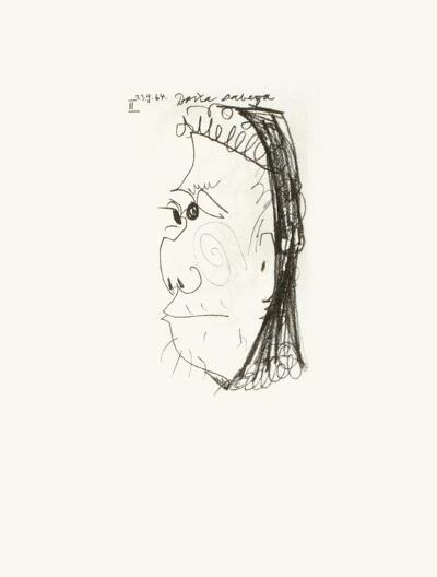 Le Goût du Bonheur 35-Pablo Picasso-Serigraph