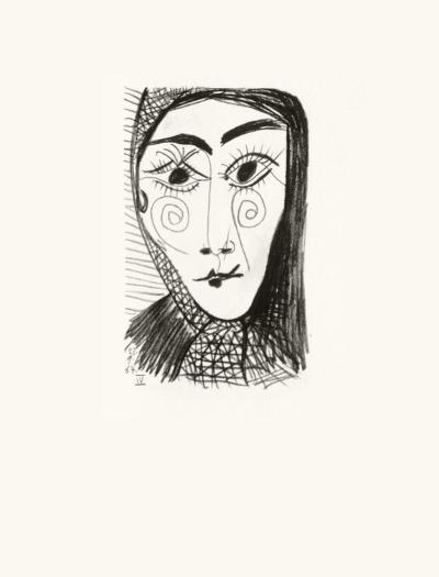 Le Goût du Bonheur 37-Pablo Picasso-Serigraph