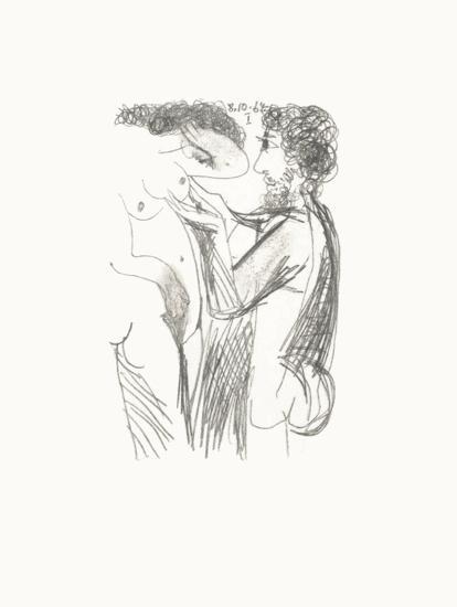 Le Goût du Bonheur 50-Pablo Picasso-Serigraph