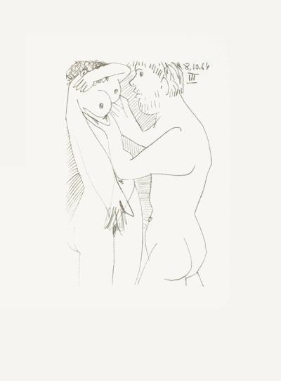 Le Goût du Bonheur 52-Pablo Picasso-Serigraph