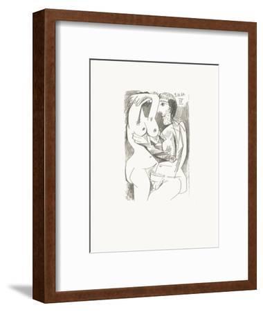 Le Goût du Bonheur 71-Pablo Picasso-Framed Serigraph
