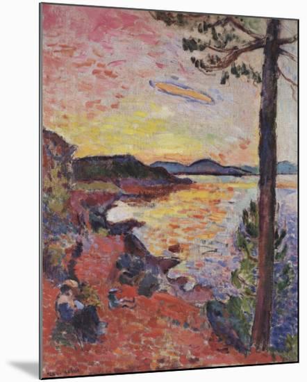 Le Gouter, 1904-Henri Matisse-Mounted Art Print