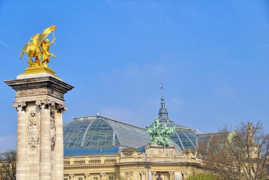 Le Grand Palais II-Cora Niele-Giclee Print