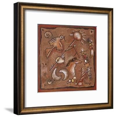 Le Grand Soleil-Jean-yves Lesage-Framed Art Print