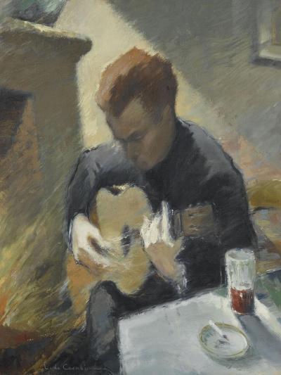 Le guitariste--Giclee Print