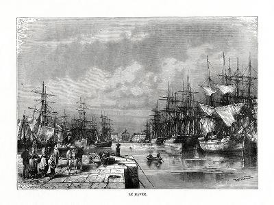 Le Havre, Normandy, Northern France, 1879-C Laplante-Giclee Print