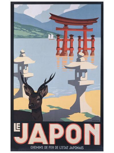 Le Japon-P^ Erwin Brown-Giclee Print