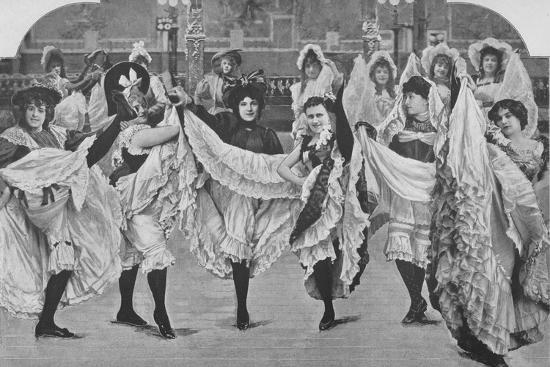 'Le Jardin De Paris - Ou Les Plaisirs De L'Ete', 1900-Unknown-Photographic Print