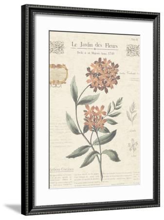 Le Jardin des Fleurs II-Maria Mendez-Framed Art Print