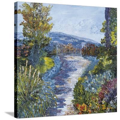 Le Jardin Fleuri-Tania Forgione-Stretched Canvas Print