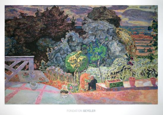 Le Jardin Sauvage (La Grande Terrasse) Art Print by Pierre Bonnard | Art.com