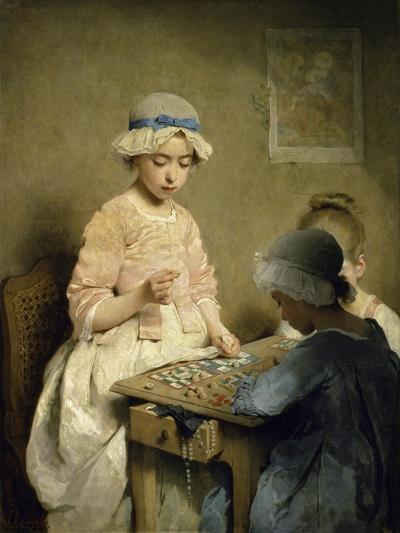 Le Jeu de Lotogame of Chance--Giclee Print