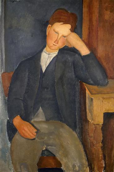 Le jeune apprenti-Amedeo Modigliani-Giclee Print