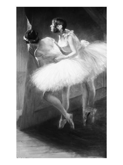Le Jour de l'examen (danseuses)-François Vizzavona-Giclee Print