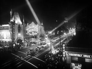 Le Jour De L'Ouverture Opening Day a Hollywood 1927 Salle De Cinema