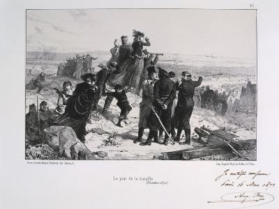 Le Jour Du Bataille' ('The Day of the Battle), Siege of Paris, Franco-Prussian War, 1870-Auguste Bry-Giclee Print