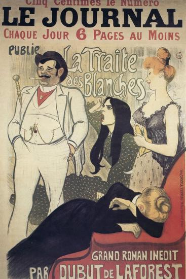 Le Journal, Poster, 1899-Theophile Alexandre Steinlen-Giclee Print