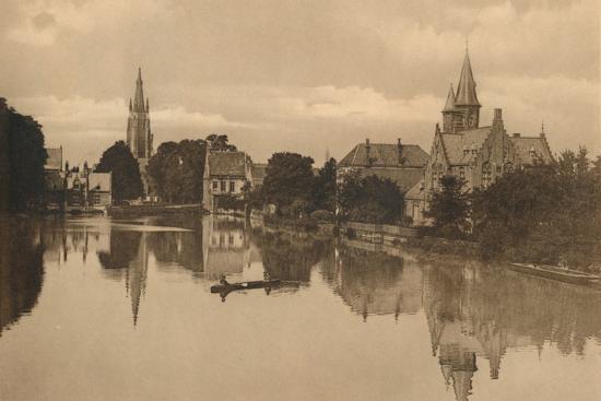 'Le Lac d'Amour', c1928-Unknown-Photographic Print