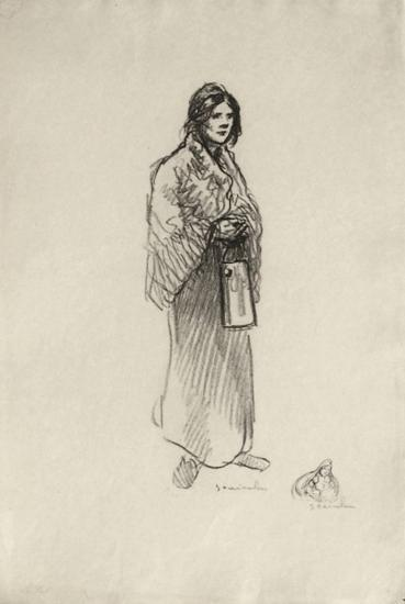 Le lait II-Th?ophile Alexandre Steinlen-Limited Edition