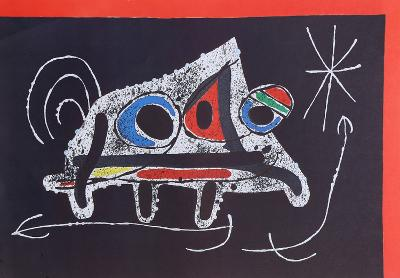 Le Lezard aux Plumes from Indelible Miro-Joan Mir?-Art Print