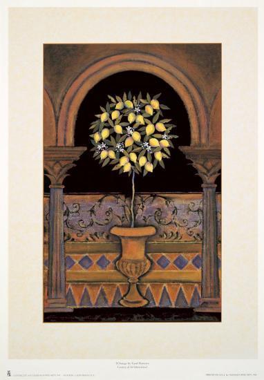Le Limon-Karel Burrows-Art Print