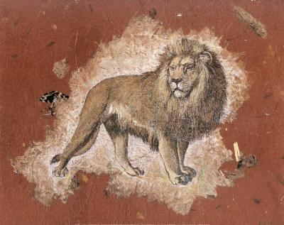 Le Lion-Laurence David-Art Print