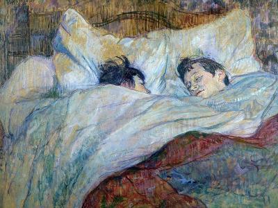 Le Lit-Henri de Toulouse-Lautrec-Giclee Print