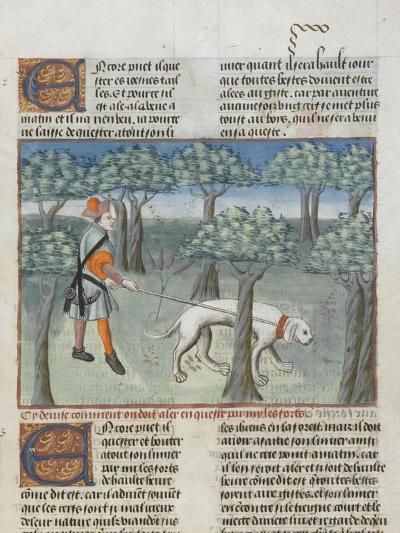 Le Livre de la chasse de Gaston Phébus : manière de chasser le cerf dans la forêt--Giclee Print