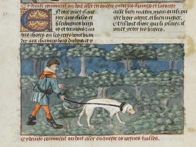 Le Livre de la chasse de Gaston Phébus--Giclee Print