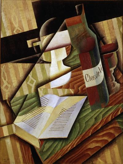 Le Livre (The Book), 1915-Juan Gris-Giclee Print