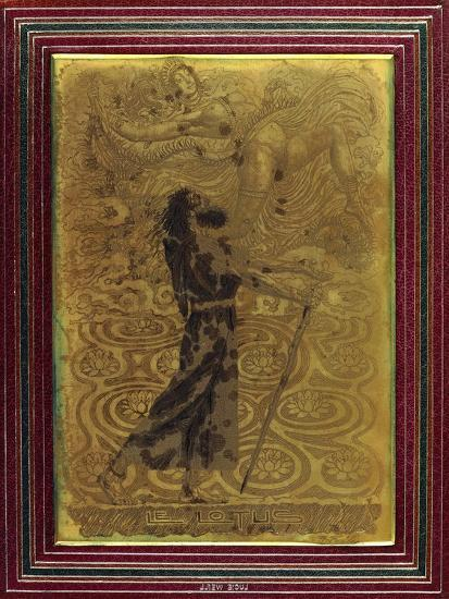 Le Lotus, C.1924-Raphael Freida-Giclee Print