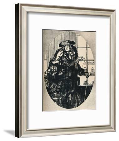 'Le Lutrin, Chant II (Boileau)', c1920, (1923)-Maxime Dethomas-Framed Giclee Print