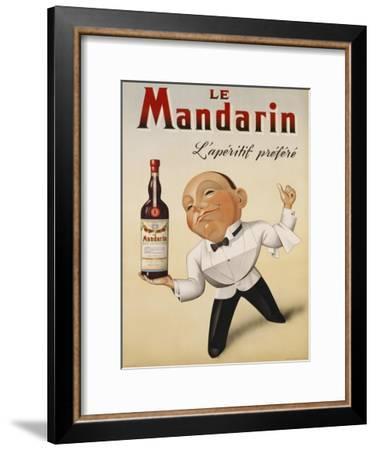 Le Mandarin L'Aperitif Prefere, 1932--Framed Art Print