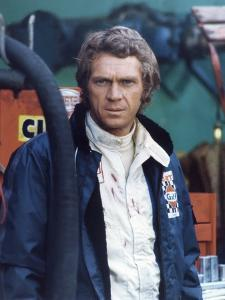 LE MANS, 1970 directed by LEE H. KATZIN Steve McQueen (photo)